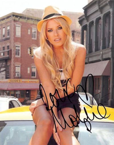 Mollie King Autograph Signed Photo - The Saturdays